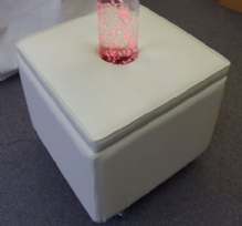 Bubble Tube Plinth Large